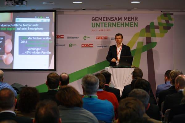 eday 2013: Vortrag von Google Klaus Müller