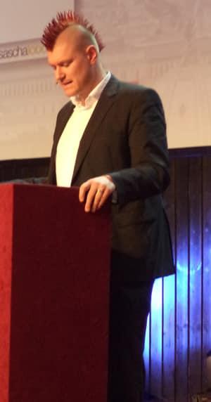 Sascha Lobo auf der JW Bundestagung in Wien