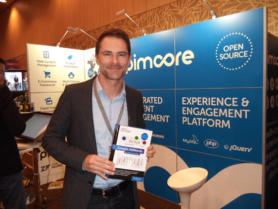 Google Analytics Konferenz und etailment Wien: Thomas Sommeregger stellt sein AdWords-Buch vor