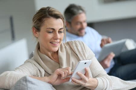 Online Shopping per Smartphone