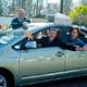 Selbstfahrendes-Auto-mit den Chefs von Google