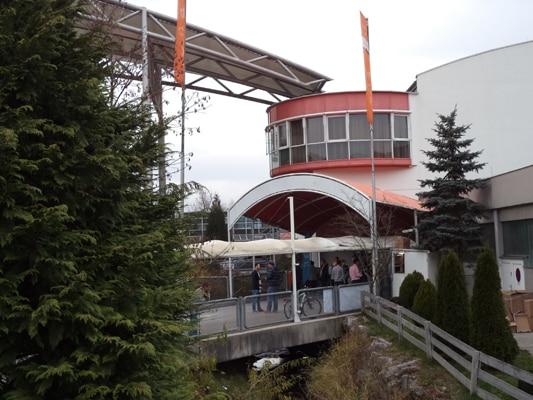 Die OMX und SEOkomm 2013 Location: Brandboxx, Salzburg