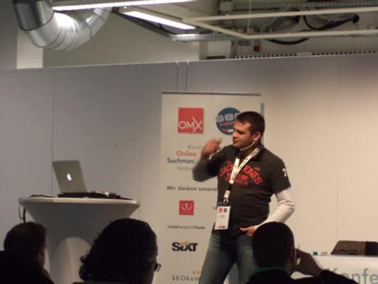 Manfred Gottschling von Xovi in Action, OMX 2013