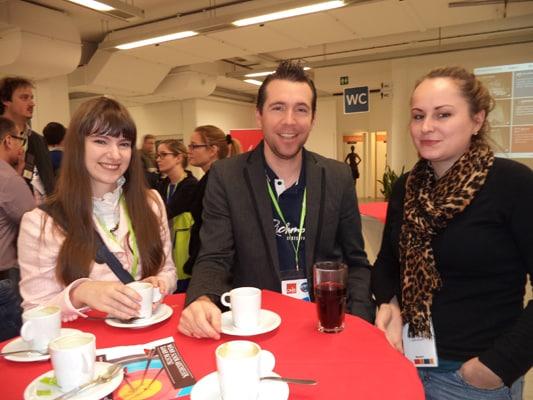 OMX und SEOkomm 2013: Networking in den Pausen