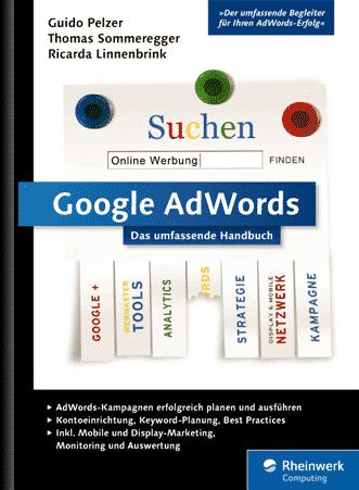 Cover: Google AdWords - das neue Buch 2015