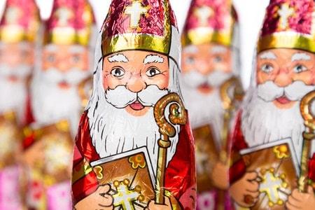 Schoko-Nikolaus erinnert an AdWords-Kampagnen für Weihnachten
