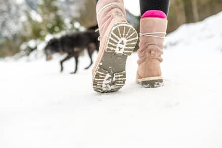 Online-Datenschutz & Spuren im Schnee