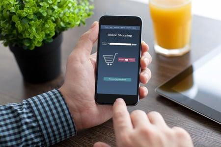 Mobile Shopping - so kommt man zum Checkout