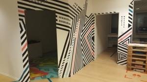 Graffiti-Kunst und Infos zum neuen Datenschutz bei Rechtsanwalt Peter Harlander